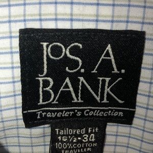 Jos. A. Bank Shirts - Jo's.A.Bank Travelers Collection Dress Shirt